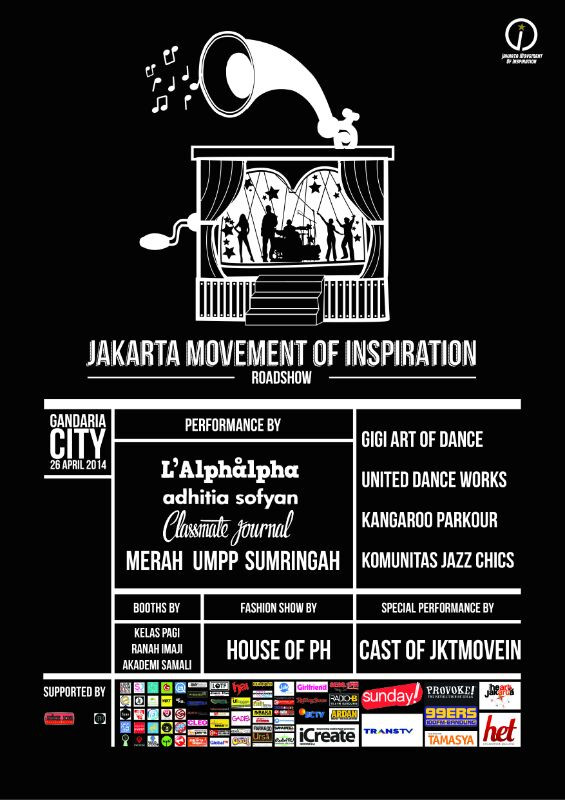 Next Gig : Gandaria City, 26 April.